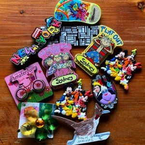 Selection Of Fridge Magnets-Disney-New York & More